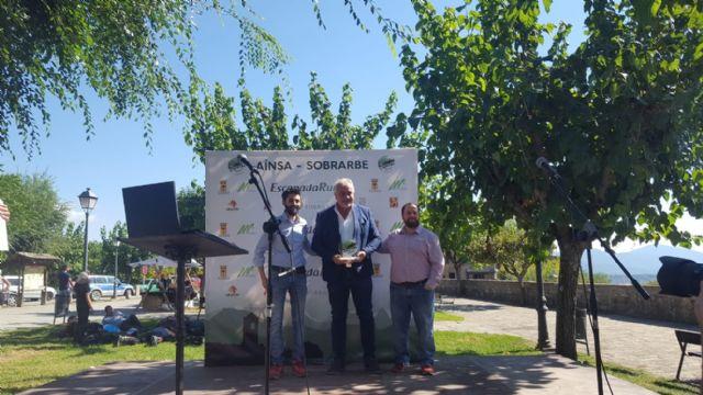 Moratalla recibe en Aínsa-Sobrarbe el trofeo que le acredita como finalista en el Concurso de la Capital del Turismo Rural de España - 1, Foto 1