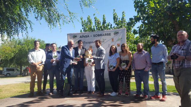 Moratalla recibe en Aínsa-Sobrarbe el trofeo que le acredita como finalista en el Concurso de la Capital del Turismo Rural de España - 2, Foto 2