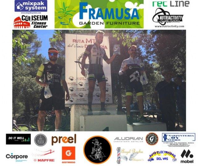 New podium for the Grasshopper Framusa in María - 2