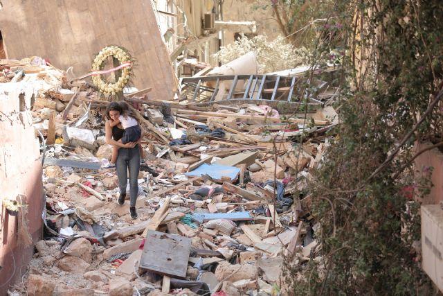 Beirut: dos meses después de la explosión que destruyó la ciudad - 1, Foto 1