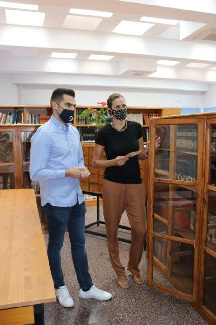 La Biblioteca Pública Municipal Mari Carmen Campoy abre de nuevo sus puertas siguiendo todos los protocolos Covid-19 de seguridad - 1, Foto 1