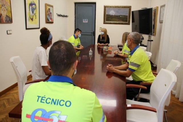 La concejalía de Salud trasladará a la Comunidad Autónoma las carencias de la UME en Alhama, Foto 1