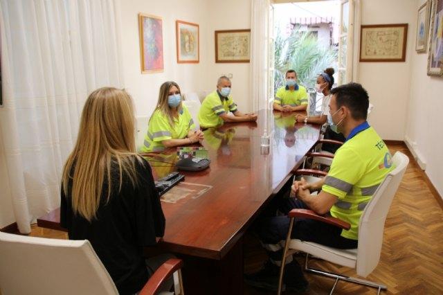 La concejalía de Salud trasladará a la Comunidad Autónoma las carencias de la UME en Alhama, Foto 2