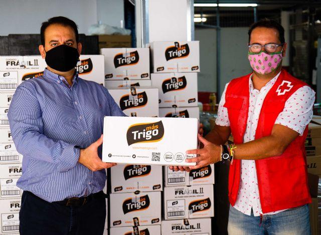 MasTrigo vuelve a colaborar con Cruz Roja, Jesús Abandonado y Cáritas donando 3.000 unidades de producto - 1, Foto 1