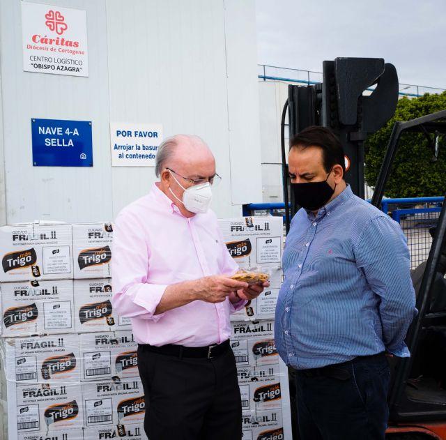 MasTrigo vuelve a colaborar con Cruz Roja, Jesús Abandonado y Cáritas donando 3.000 unidades de producto - 3, Foto 3