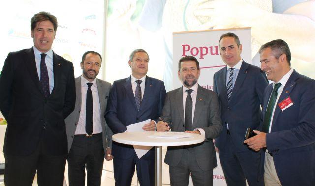 PROEXPORT acuerda con Banco Popular favorecer financieramente las exportaciones de sus empresas asociadas - 1, Foto 1