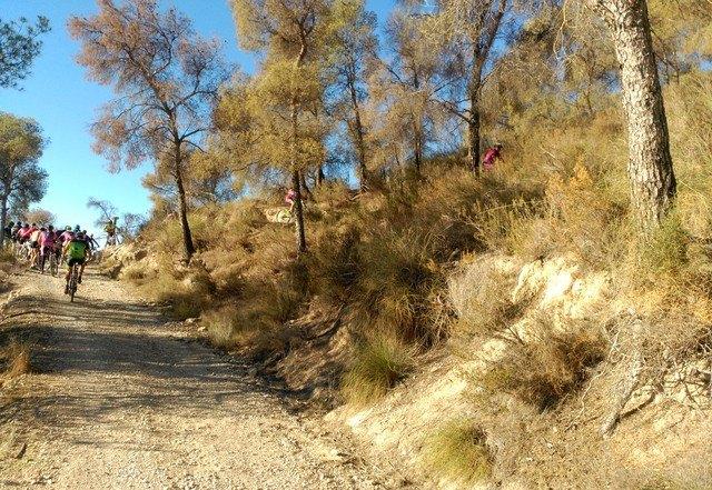 La A. D. Peña Las Nueve realiz� una salida el pasado pasado domingo 30 de octubre, Foto 2