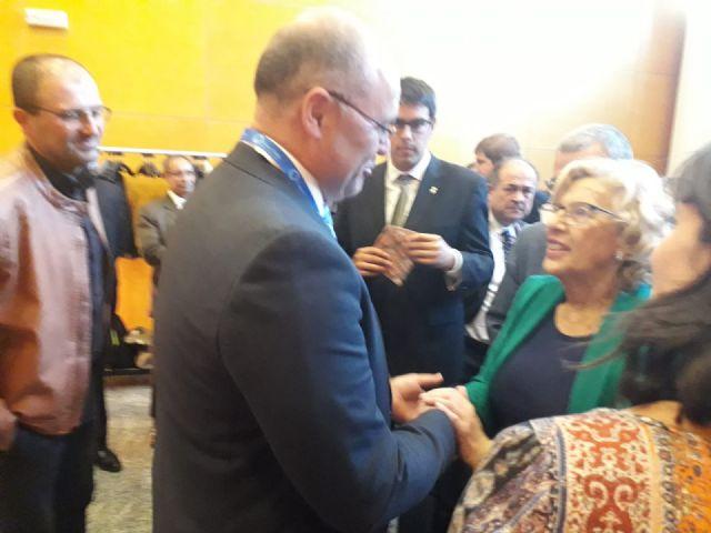 El alcalde de Pliego participó en Madrid en la ceremonia de inicio de la Feria Expotural representando a Sierra Espuña - 1, Foto 1