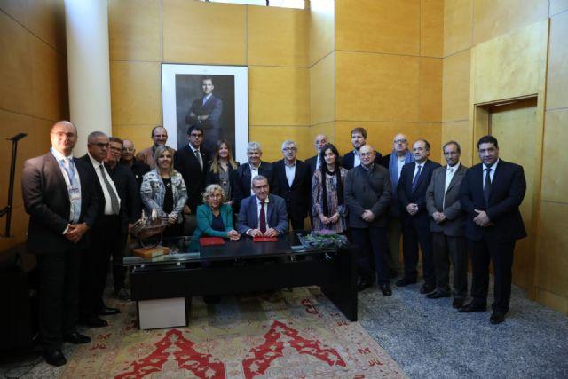 El alcalde de Pliego participó en Madrid en la ceremonia de inicio de la Feria Expotural representando a Sierra Espuña - 2, Foto 2
