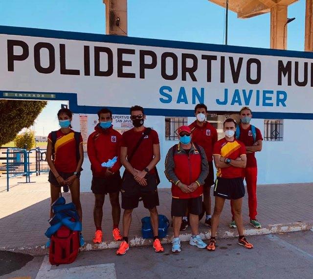 Iván López concentrado con el grupo de entrenamiento de José Antonio Carrillo en Los Alcázares - 3, Foto 3