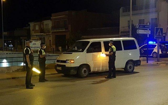 La Policía Local de Totana realiza la apertura de 30 expedientes sancionadores por incumplimiento de las medidas sanitarias contra el Covid -19 - 1, Foto 1