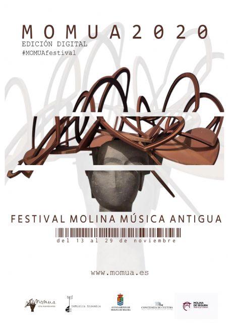 La cuarta edición del Festival Molina Música Antigua, MOMUA 2020 se celebra del 13 al 29 de noviembre y será exclusivamente online - 1, Foto 1