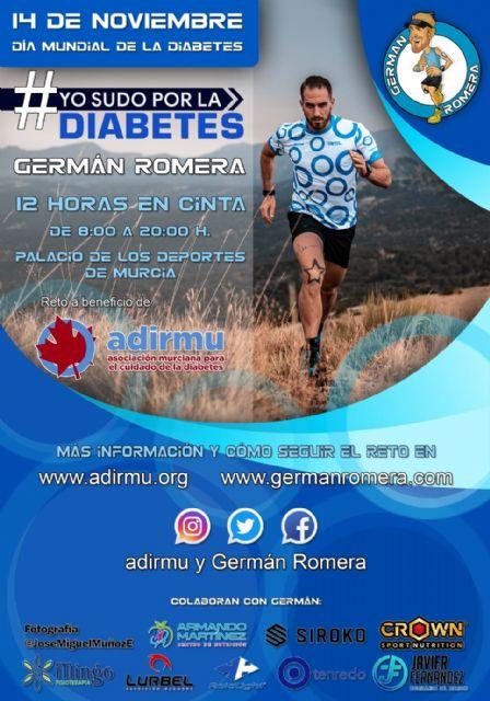 El 14 de noviembre, suda por la diabetes con Germán Romera - 1, Foto 1