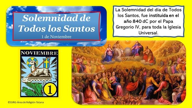 Solemnity of All Saints' Day
