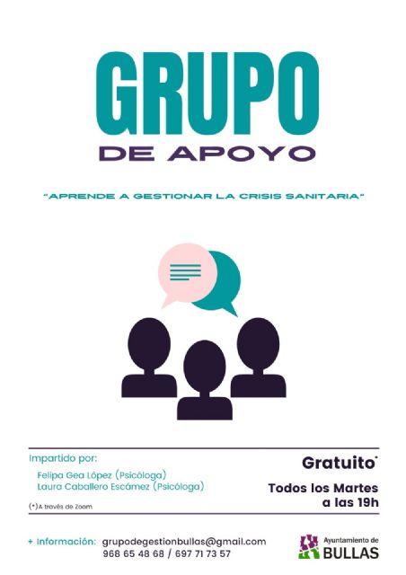 Grupo de apoyo psicológico para afrontar la nueva situación derivada por la Covid-19 - 1, Foto 1