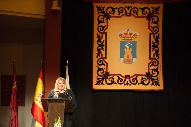 García Legaz destaca en su pregón la evolución del municipio unida al trabajo de los mazarroneros, Foto 1