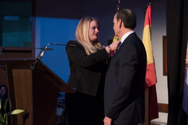 Navarro Campillo inaugura oficialmente las fiestas con un pregón de esencia local y de admiración por la patrona, Foto 3