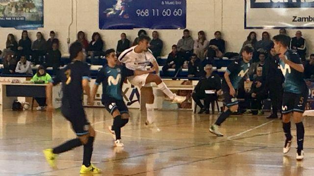 """Empate de Zambú CFS Pinatar frente a Movistar Inter """"B"""" en un partido en el que mereció más (3-3) - 1, Foto 1"""