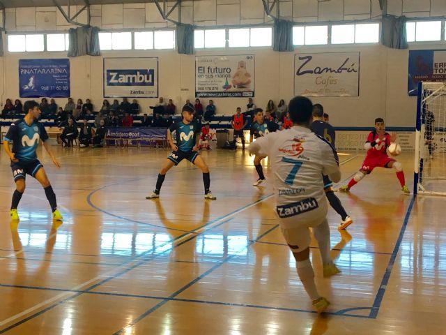 """Empate de Zambú CFS Pinatar frente a Movistar Inter """"B"""" en un partido en el que mereció más (3-3) - 4, Foto 4"""