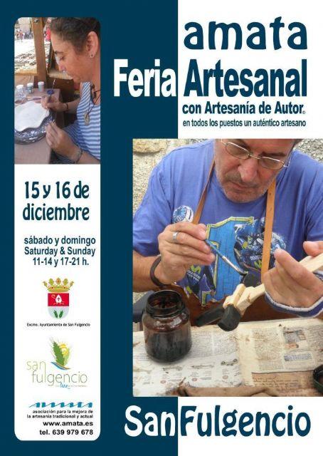 Amata traerá la Artesanía de Autor® a San Fulgencio - 1, Foto 1