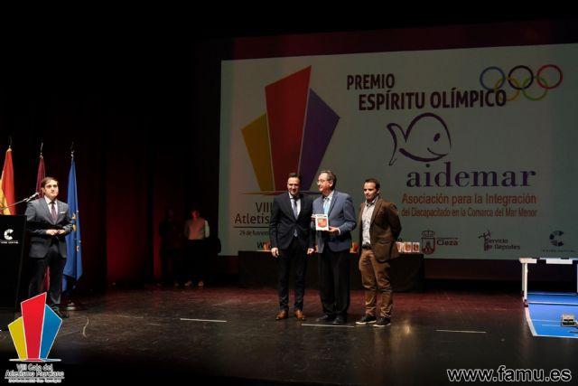 La Asociación AIDEMAR premio al espíritu olímpico de la Federación Murciana de Atletismo - 2, Foto 2
