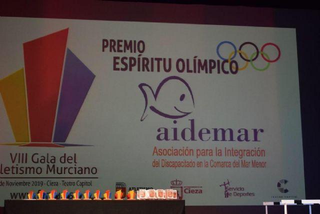 La Asociación AIDEMAR premio al espíritu olímpico de la Federación Murciana de Atletismo - 3, Foto 3