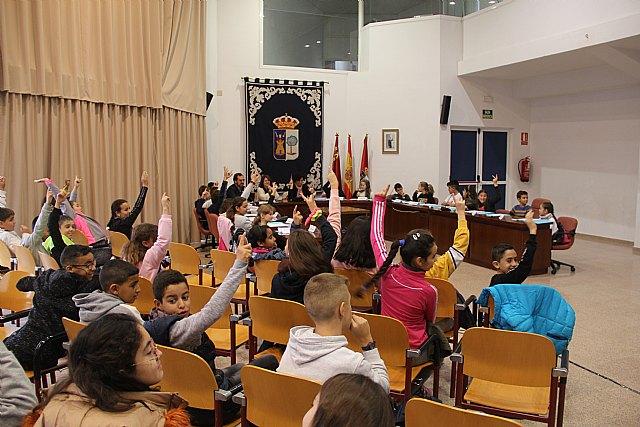 El Ayuntamiento de Puerto Lumbreras acoge plenos infantiles para conmemorar el día de la Constitución 2019 - 2, Foto 2