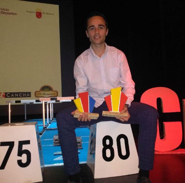 2 premios y un diploma para Iván López en la gala del atletismo murciano - 2, Foto 2