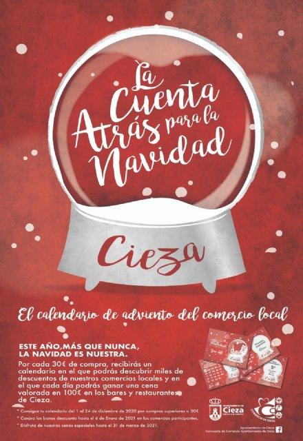 La Concejalía de Comercio Ayuntamiento de Cieza marca la cuenta atrás para la Navidad - 1, Foto 1