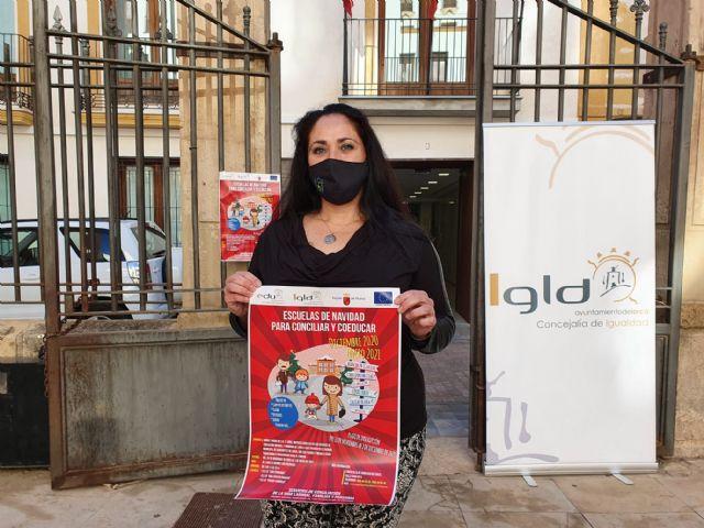 El Ayuntamiento de Lorca amplía el plazo de presentación de solicitudes para las 'Escuelas de Navidad para Conciliar y Coeducar' hasta el viernes 11 de diciembre - 1, Foto 1