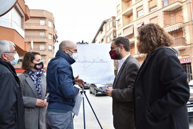 El alcalde de Lorca presenta el proyecto de remodelación de Jerónimo Santa Fe, que viene a completar la renovación de la ciudad desde Santa Clara hasta La Viña - 1, Foto 1
