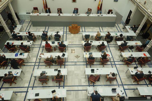 La Asamblea Regional aprueba una declaración institucional con motivo del día internacional y europeo de las personas con discapacidad - 1, Foto 1