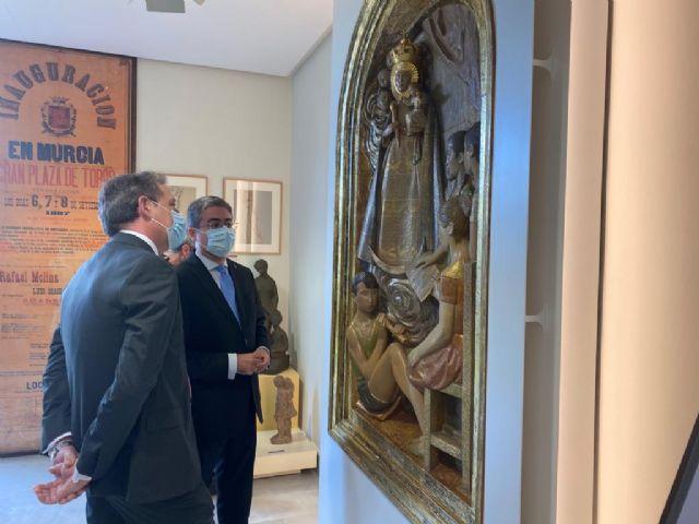 El retablo ´Virgen de la Fuensanta con niños cantores´ de Antonio Campillo, nueva pieza de la colección permanente del Museo de la Ciudad - 1, Foto 1