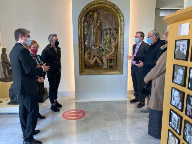 El retablo ´Virgen de la Fuensanta con niños cantores´ de Antonio Campillo, nueva pieza de la colección permanente del Museo de la Ciudad - 2, Foto 2