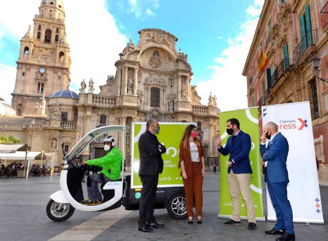 Murcia estrena ´Mioo´, un nuevo servicio de entrega de paquetes a domicilio 100% sostenible - 1, Foto 1