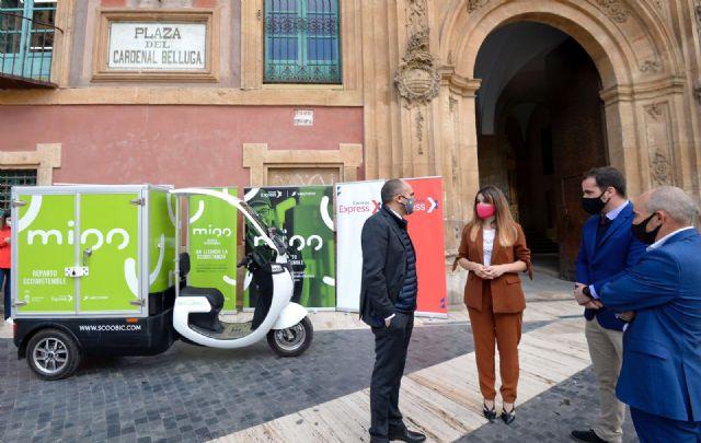 Murcia estrena ´Mioo´, un nuevo servicio de entrega de paquetes a domicilio 100% sostenible - 2, Foto 2
