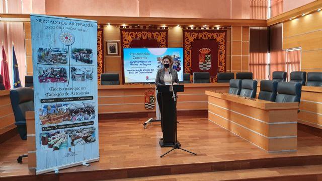 El Ayuntamiento de Molina de Segura firma un convenio de subvención nominativa con la Asociación de Amigos del Zoco del Guadalabiad para promocionar el sector artesano local en 2020 - 2, Foto 2