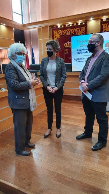 El Ayuntamiento de Molina de Segura firma un convenio de subvención nominativa con la Asociación de Amigos del Zoco del Guadalabiad para promocionar el sector artesano local en 2020 - 3, Foto 3