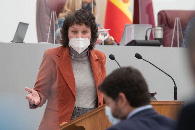 María Marín: El triunfalismo de López Miras es un insulto a los 463 muertos de esta segunda ola y a sus familiares - 2, Foto 2