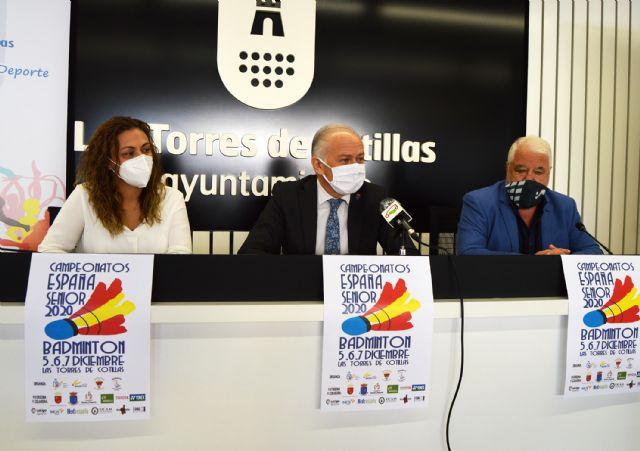 148 deportistas se darán cita en Las Torres de Cotillas para el campeonato nacional senior de bádminton - 1, Foto 1