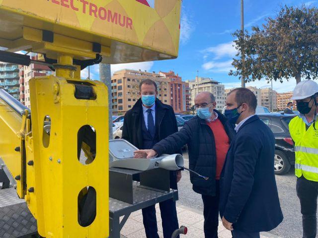 El Ayuntamiento de Murcia renueva el alumbrado público mejorando la seguridad de los vecinos en pedanías - 1, Foto 1