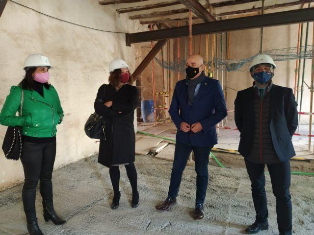 La rehabilitación del Claustro del Carmen de Lorca continúa adelante con una subvención de Cultura de 750.000 euros - 1, Foto 1