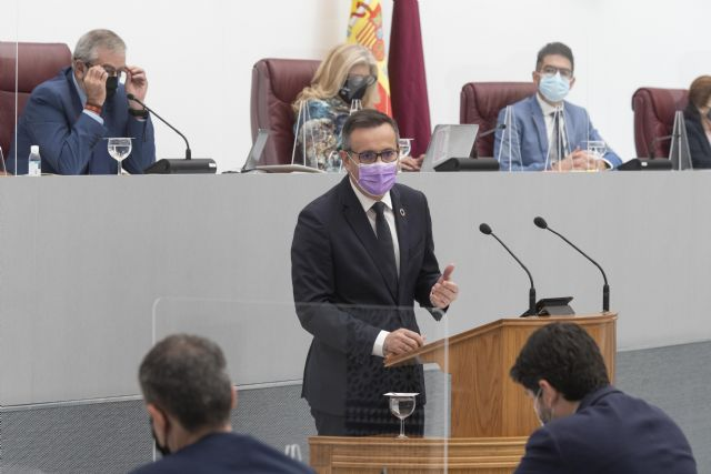 Diego Conesa: Necesitamos un Gobierno regional centrado que dé respuesta a la ciudadanía, en lugar de confrontar con el Gobierno de España - 2, Foto 2