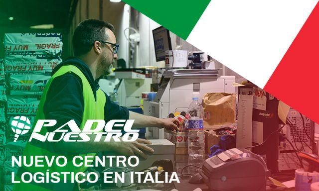 Padel Nuestro abre un centro logístico en Italia y continúa su expansión internacional - 2, Foto 2