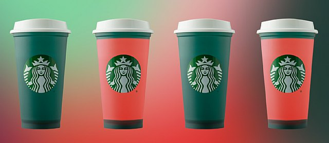 ¡Vuelven los icónicos vasos navideños de StarbucksR! Ahora también reutilizables y hasta cambian de color - 1, Foto 1