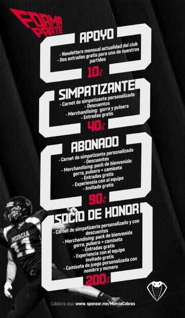 Murcia cobras lanza su campaña de crowfunding - 1, Foto 1