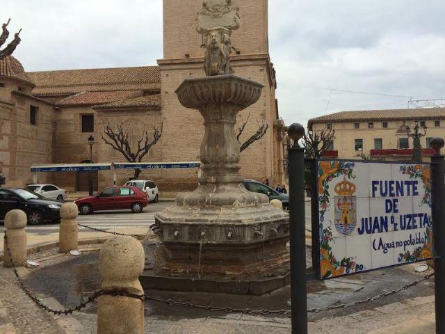 La Dirección General de Bienes Culturales autoriza el proyecto básico de ejecución y rehabilitación de la fuente Juan de Uzeta, Foto 1