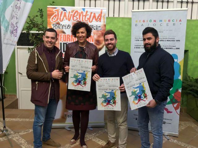 El director general de Juventud presenta el programa Murcia Bajo Cero en Puerto Lumbreras - 1, Foto 1