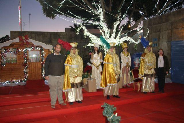 Los Pajes Reales recogen las cartas para los Reyes Magos en San Pedro del Pinatar - 3, Foto 3