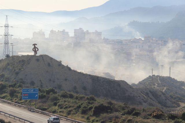 La falta de control sobre las quemas agrícolas sigue provocando problemas de contaminación en Cieza - 2, Foto 2